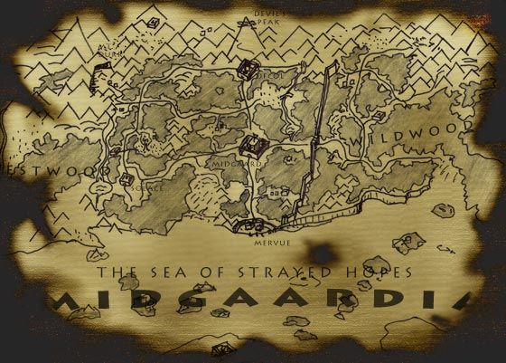 Midgaardia map